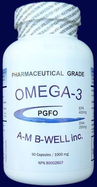 AMB Well Omega-3 PGFO
