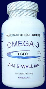 AMB Well Omega-3 PGFO - Click for closeup view.